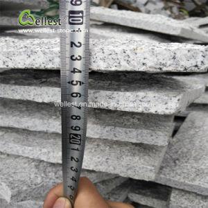 Cogumelo de granito cinza para parede exterior, Mushroom pedra para parede de retenção