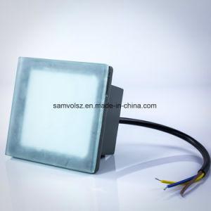 Samvol 3W 6W 12W新しいデザイン正方形LEDの床の組み込みランプ、LEDの煉瓦ランプ、LEDの地下ライト、Ingroundランプ