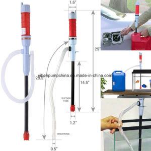 A transferência do líquido Siphon-Pump