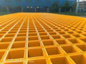 China gradeamento de fibra de plástico reforçado por fibra personalizada de fábrica para a construção