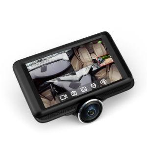 Monitor de aparcamiento nuevo Grabador DVR Dash Cam lente de 360 grados vista Completa Alquiler de caja negra
