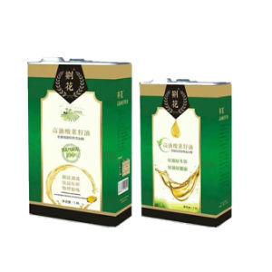 750 ml de azeite Recipiente de estanho Personalizar Recipiente Pode de Metal