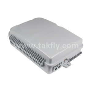 24 núcleos de fibra óptica FTTH al aire libre Caja de bornes con buena calidad