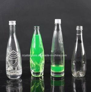Frascos de vidro de embalagem para bebidas carbonatadas garrafa de vidro personalizada