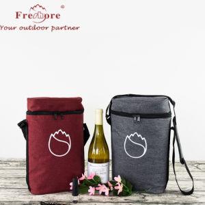 2 bouteille de vin rembourré de voyage/ Champagne sac isotherme avec poignée et bandoulière, de grands amateurs de vin cadeau