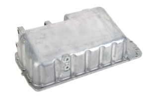 Buena calidad de colector de aceite de aluminio y acero cárter de aceite Pan