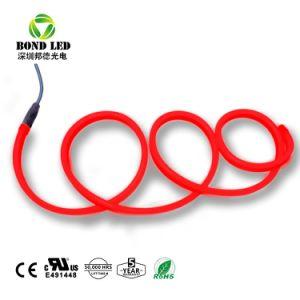 Qualidade elevada 12V/24V/110V/220V flexível do tubo de Neon LED para assinar