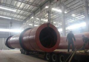 Essiccatore di legno della segatura dell'essiccatore rotativo dei trucioli del cilindro di rotazione