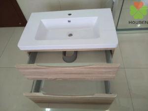 Hotel/casa de lujo de suministro de cuarto de baño con puerta laminado granulada y terminar de HS-1103-800