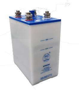 35 ans au nickel-cadmium Ni-CD Batterie Rechargeable industrielle 110V 220V 300Ah cycle profond NiCd batterie alcaline de l'onduleur pour UPS, Power Plant