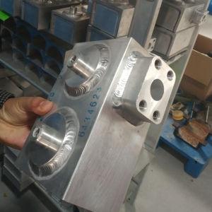 O tubo de refrigeração de água em alumínio para o novo carro de Veículo de energia