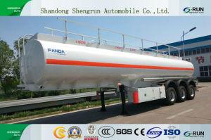42-50 de kubieke Lichtgewicht Semi Aanhangwagen van de Tank van de Legering van het Aluminium Gevaarlijke Chemische
