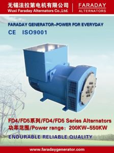 Generador de reserva eléctrica 360-550kw/450-680kVA (FD5 Series)