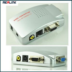 VGA al PC di avoirdupois alla TV/Video Converter