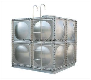 Нержавеющая сталь вид в разрезе емкостей для воды (болты)