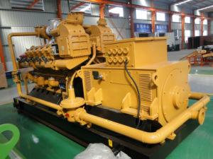Usina de energia elétrica para a produção de biogás de aterro de resíduos urbanos conjunto gerador 500kw