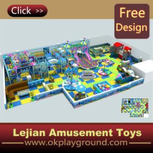 Ce terrain de jeux intérieur Jouer Jeux de la diapositive avec piscine à balles (ST1423-10)