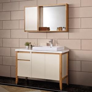 Espelho de laca Fosco Rural Oppein armário de banheiro com as pernas (PO13-021-120)