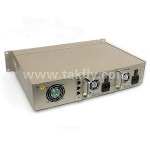 16 emplacements Mananaged Convertisseur de média Ethernet fibre optique de type rack