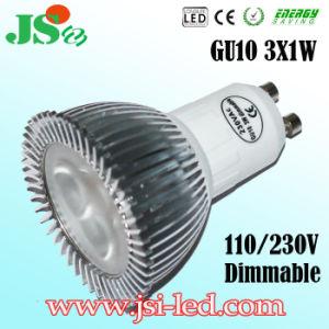 3*1W Dimmable LED GU10 Punkt-Licht Birnen-EIn (Y)