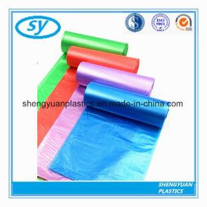 De diverses couleurs personnalisés sac à ordures en plastique