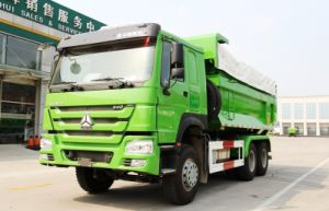 De Vrachtwagen van de Stortplaats van de Vrachtwagen van de Kipwagen/van de Kipper van de Vorm van U van Sinotruk HOWO 6X4 290-371HP