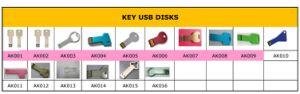 主USBディスクのためのカタログ