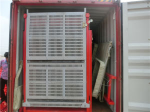 2 ton. de la jaula doble elevador ascensor Sc200/200 Construcción