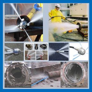 Sistema di pulizia del tubo della caldaia della fabbrica dell'amido