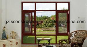 그네 열려있는 알루미늄 여닫이 창 Windows