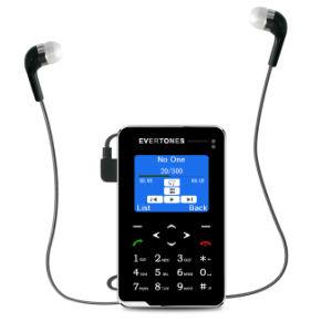 De uiterst dunne Telefoon van Bluetooth van de Studenten van de FM van de Kaart van de Zak MP3