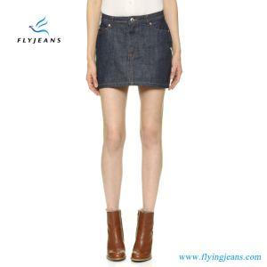 de7ad144e Venta caliente materias Denim mujeres minifalda Damas Jeans faldas ...