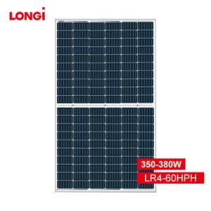 Longi Energia Solar de instrumentos 380W 375W 370W 365W 360W 120células Mono Módulo PV