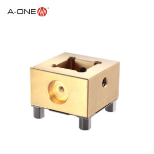 Un titular de un electrodo de cobre Adorno Forcnc mecanizado EDM 3A-501105