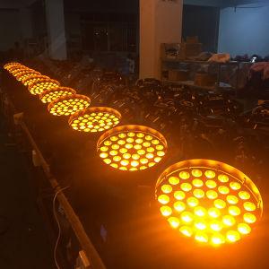 段階の照明36X18W RGBWA紫外線6in1洗浄LED移動ヘッド