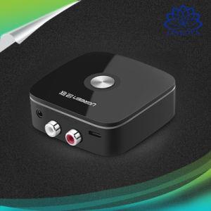Coche inalámbrico Ugreen 4.1 receptor Bluetooth Adaptador jack de 3,5 mm a 2RCA AUX Audio música Adaptador para coche MP3 Altavoces Auriculares de teléfono