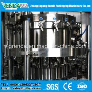 Suco de enxaguamento de bebidas e máquina de enchimento
