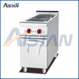 Eh877b Electric 2 plaque chaude avec le Cabinet (ronde)