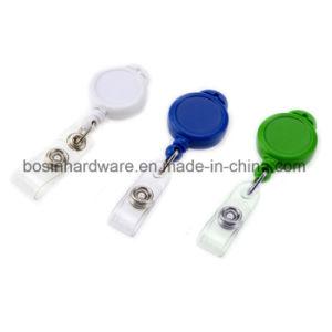 プラスチックIDのバッジのRetractabelの卸し売り巻き枠