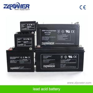 12V аккумуляторы ИБП бесплатное поддержание солнечного герметичный свинцово-кислотный аккумулятор