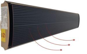 Aquecimento doméstico e industrial montado na parede do aquecedor por radiação de infravermelhos