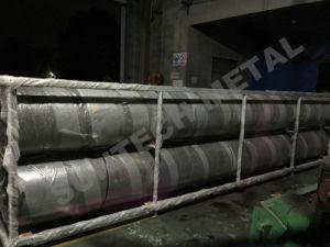 Tubo placcato bimetallico della lega di nichel della saldatura esplosiva