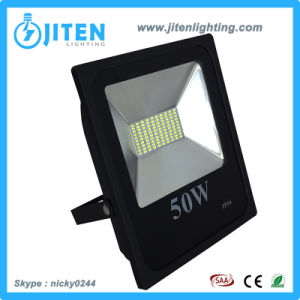IP65 50W exterior industriales proyector LED para estacionamientos