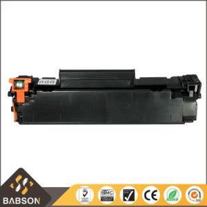 Usine directement la cartouche de toner compatible avec d'alimentation CC388A pour un échantillon gratuit HP