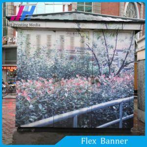 La impresión flex banner de publicidad exterior