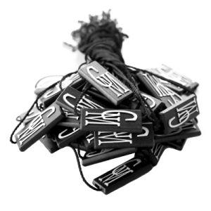 Prenda de ropa de etiqueta de colgar la cadena (DL51-1)