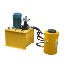 50 100 200 300 500ton Elevadores eléctricos de dupla ação tomada de cilindro hidráulico