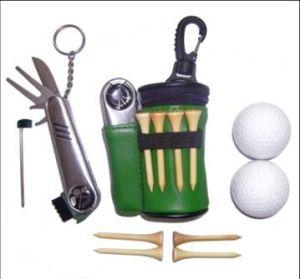 Boîte cadeau Hot-Selling Golf (avec des gants de golf et des balles de golf