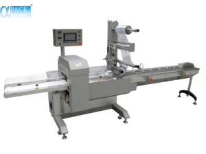 Contenedor de flujo horizontal Ajuste/barra de chocolate Embalaje/Máquina de embalaje (AHP-500-3S)