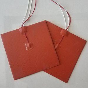Fiable et le jeûne de gel de silice de chauffage de la plaque chauffante électrique flexible de chauffage en caoutchouc de silicone